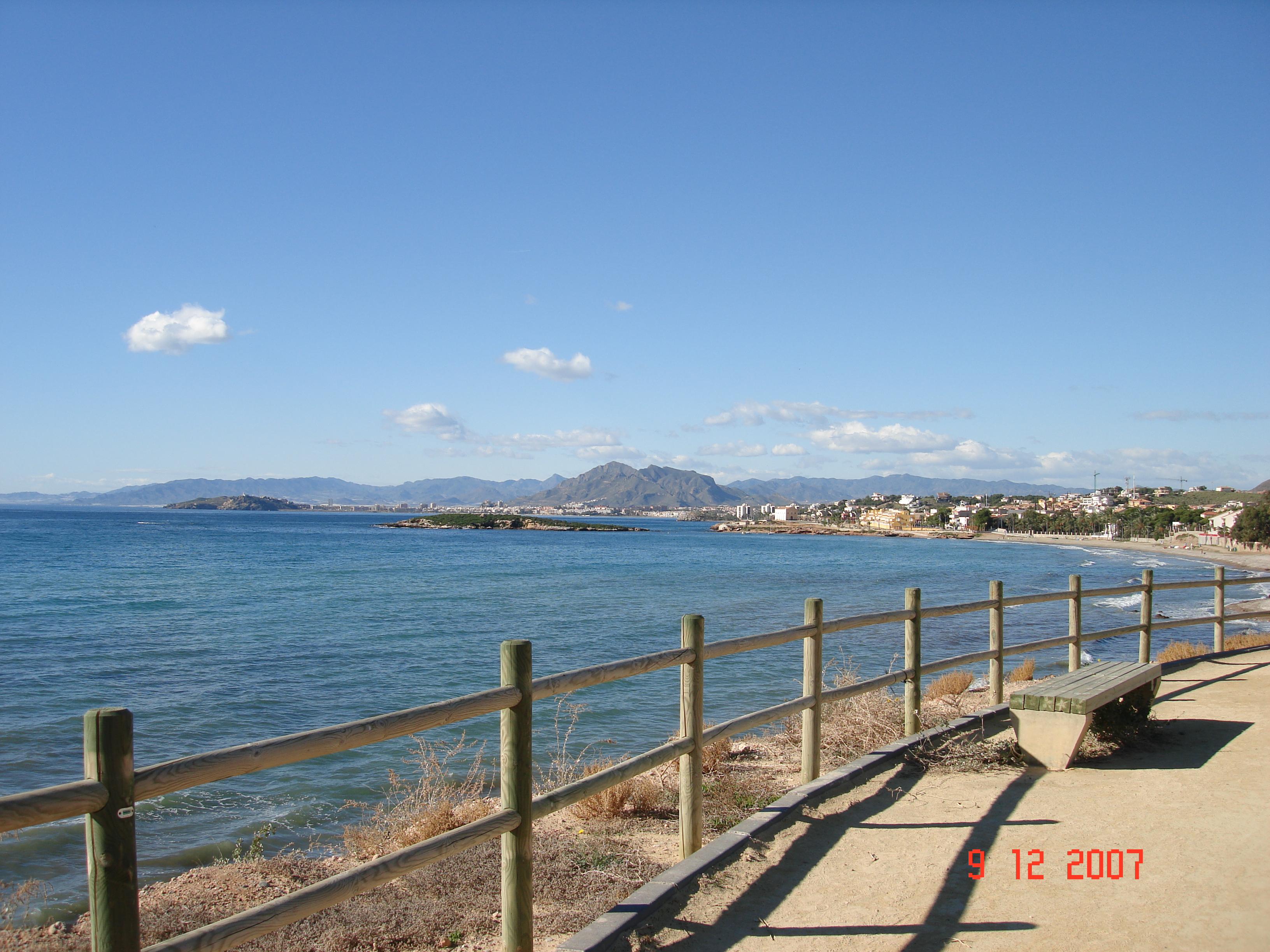Foto playa Pinet.