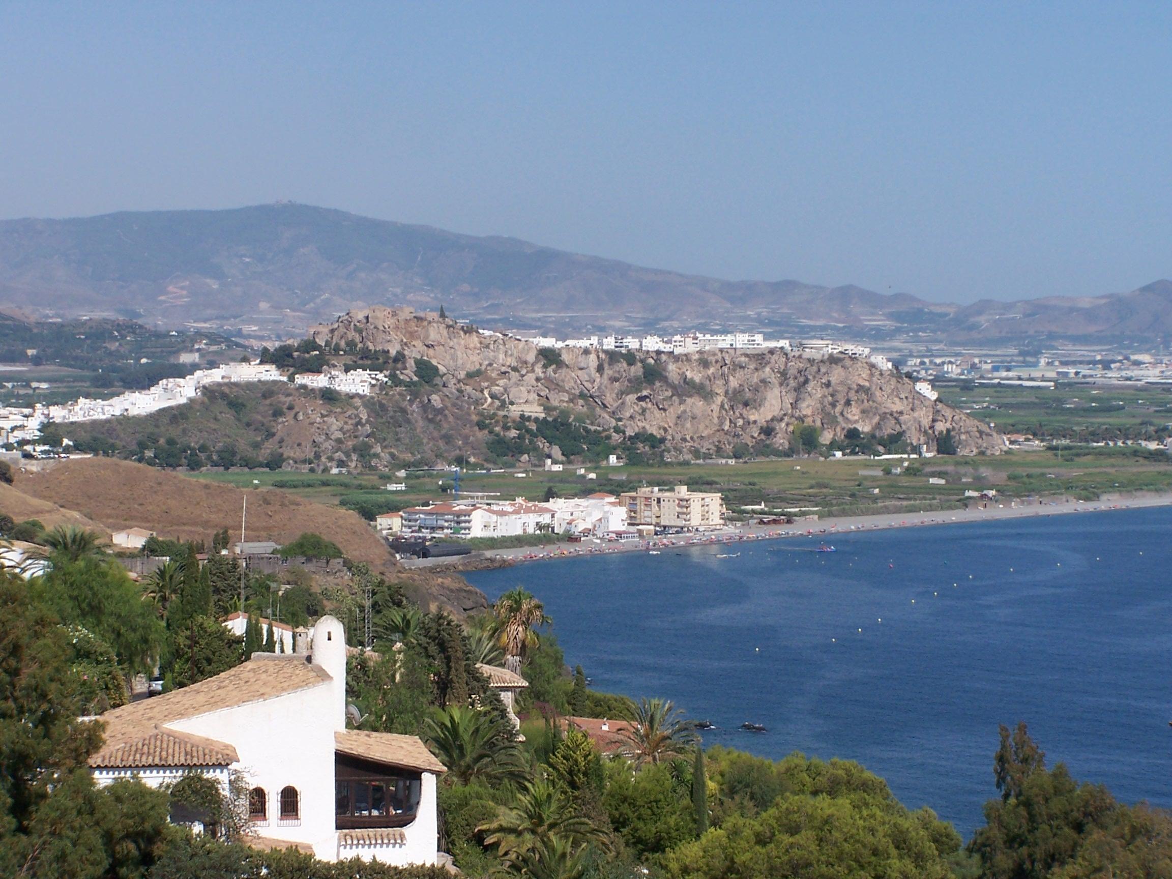 Foto playa El Caletón. Salobreña (Granada) desde Costa Aguilera