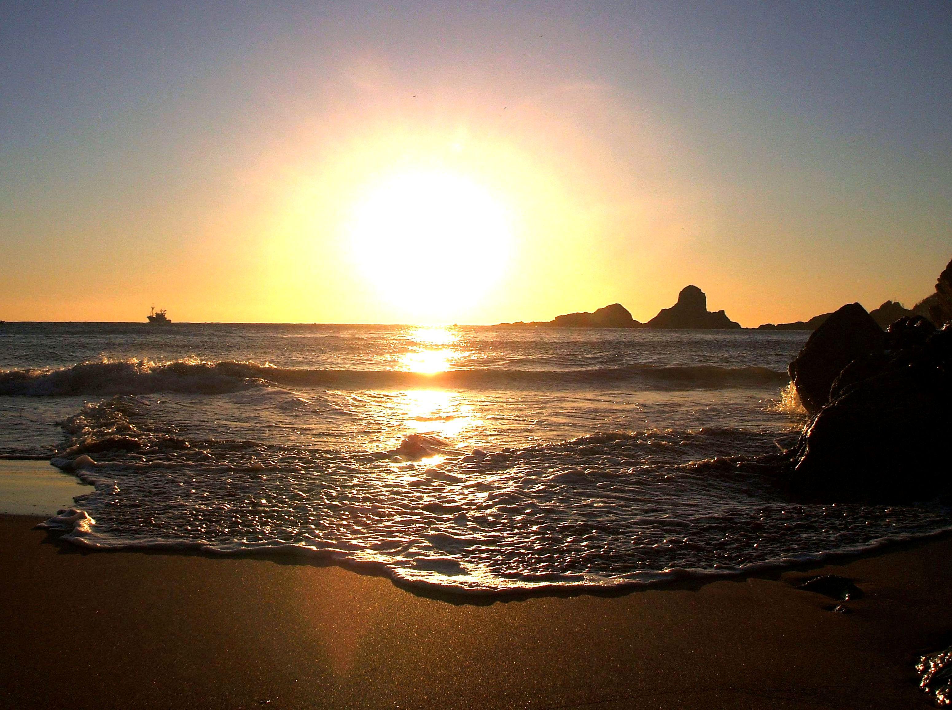Foto playa Errota Sein / Molino. GOODBYE AND GOOD MORNING - ADIOS Y BUENOS DIAS