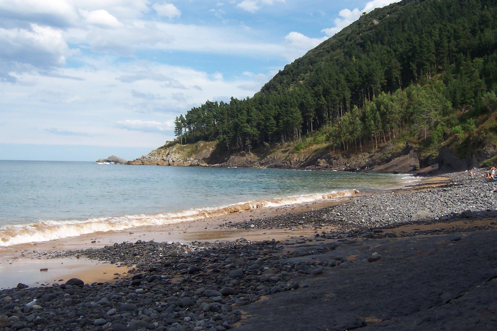 Foto playa Ogella / Ogeia / Ogeia Ispaster. Ispaster (platja)