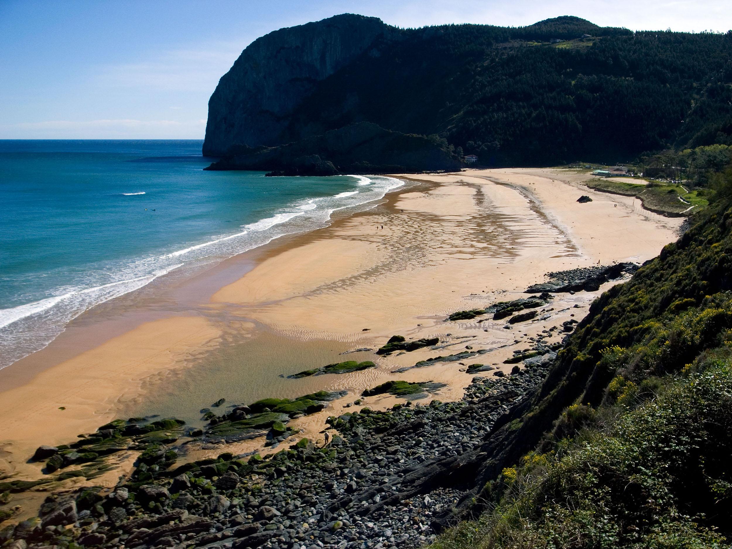 Foto playa Laga. Playa de Laga