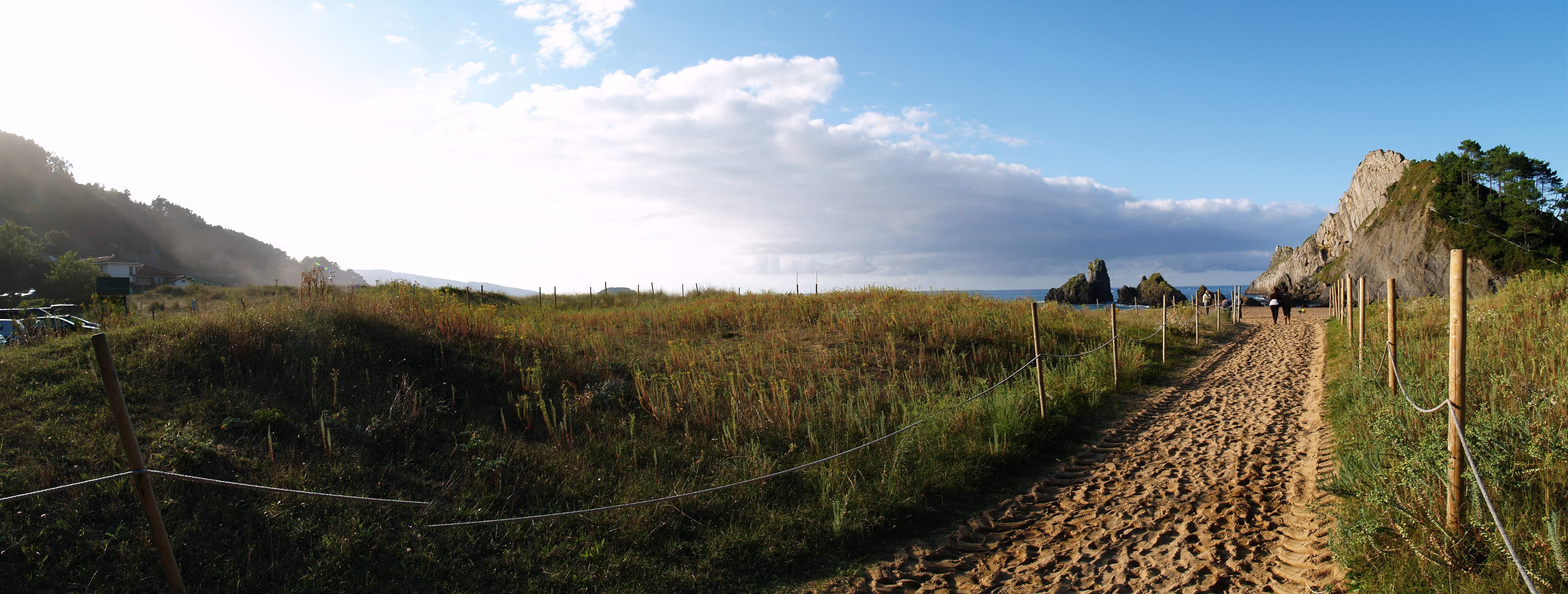 Foto playa Laga. Laga