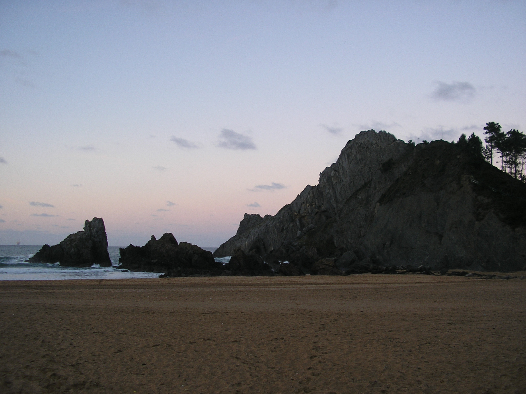 Foto playa Laga. Lagako Arrokak