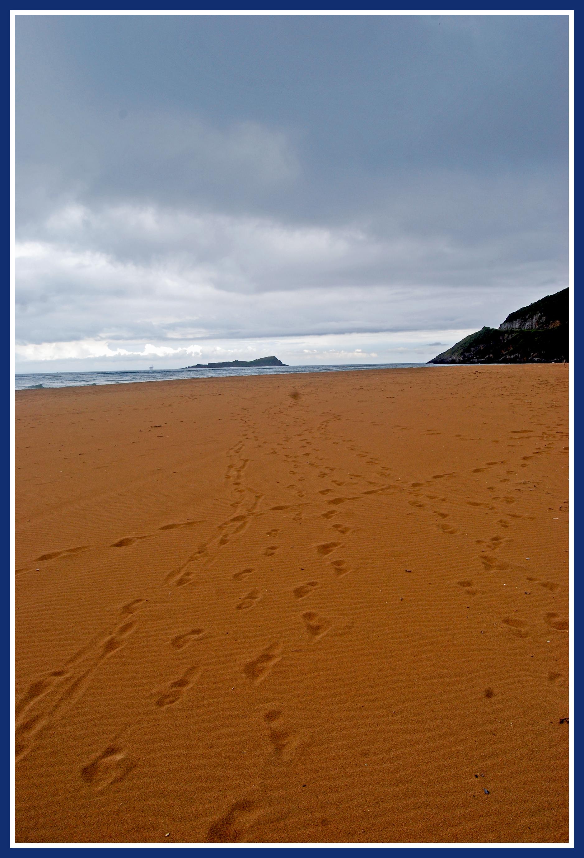 Foto playa Toña. lo que queda en la memoria- playa de laida