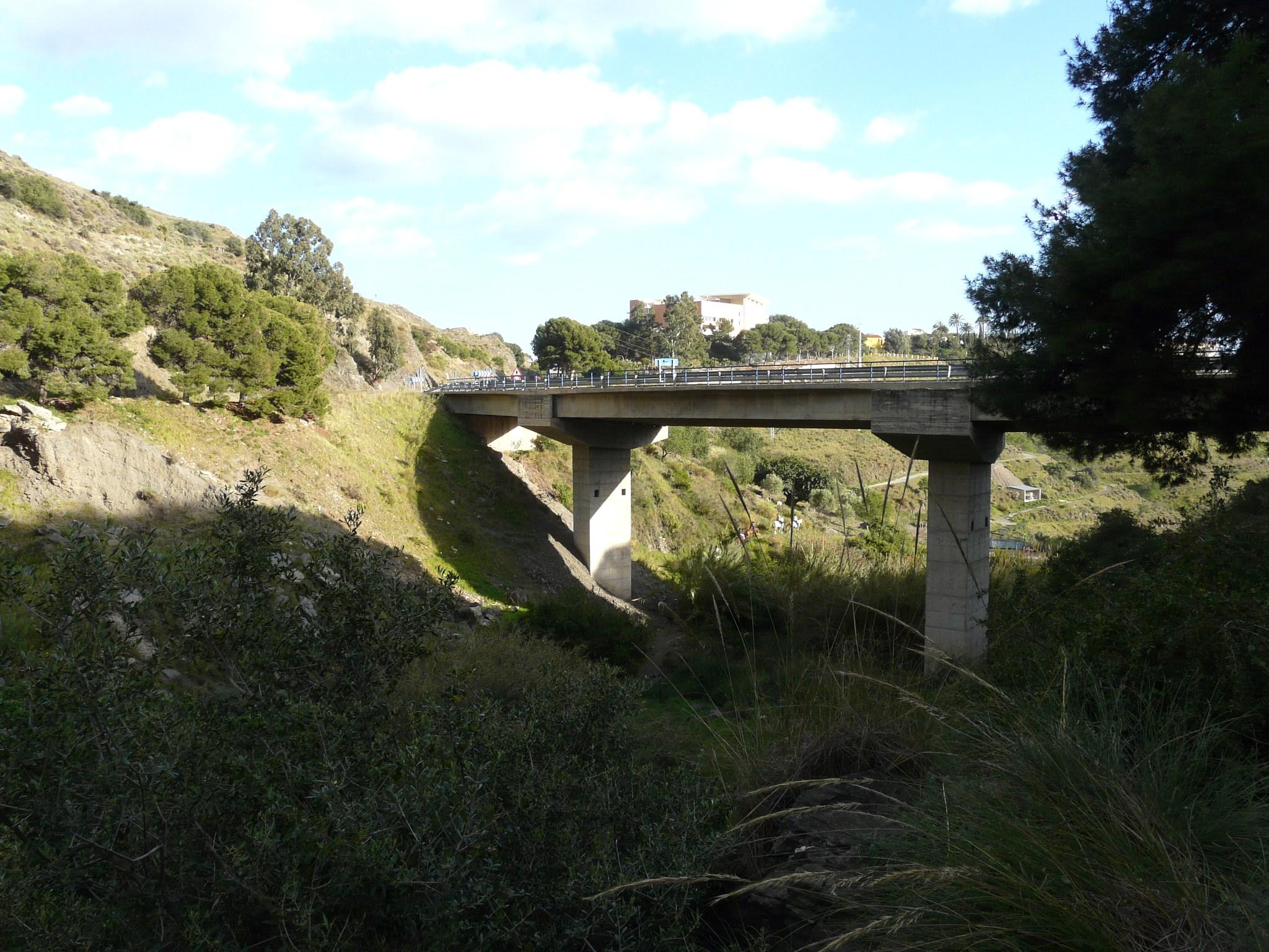 Foto playa El Cambrón. Puente N340