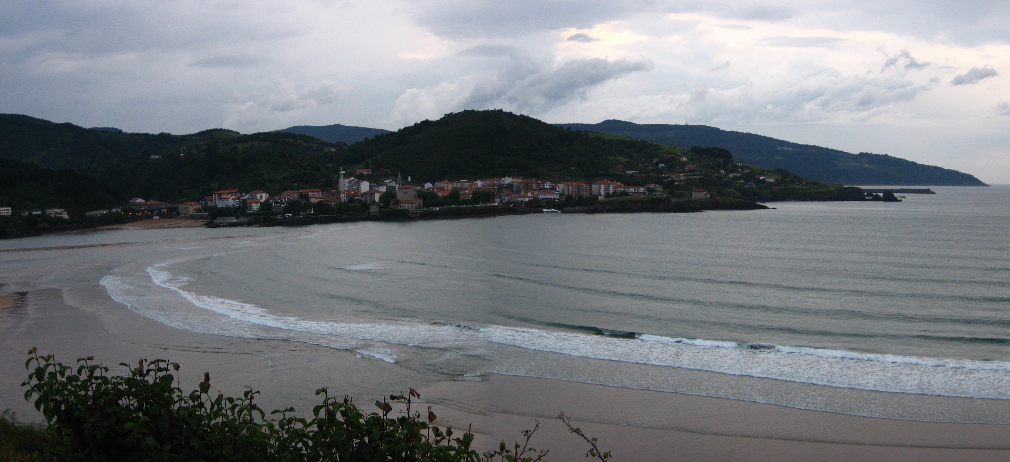 Foto playa Laidatxu. Mundaka