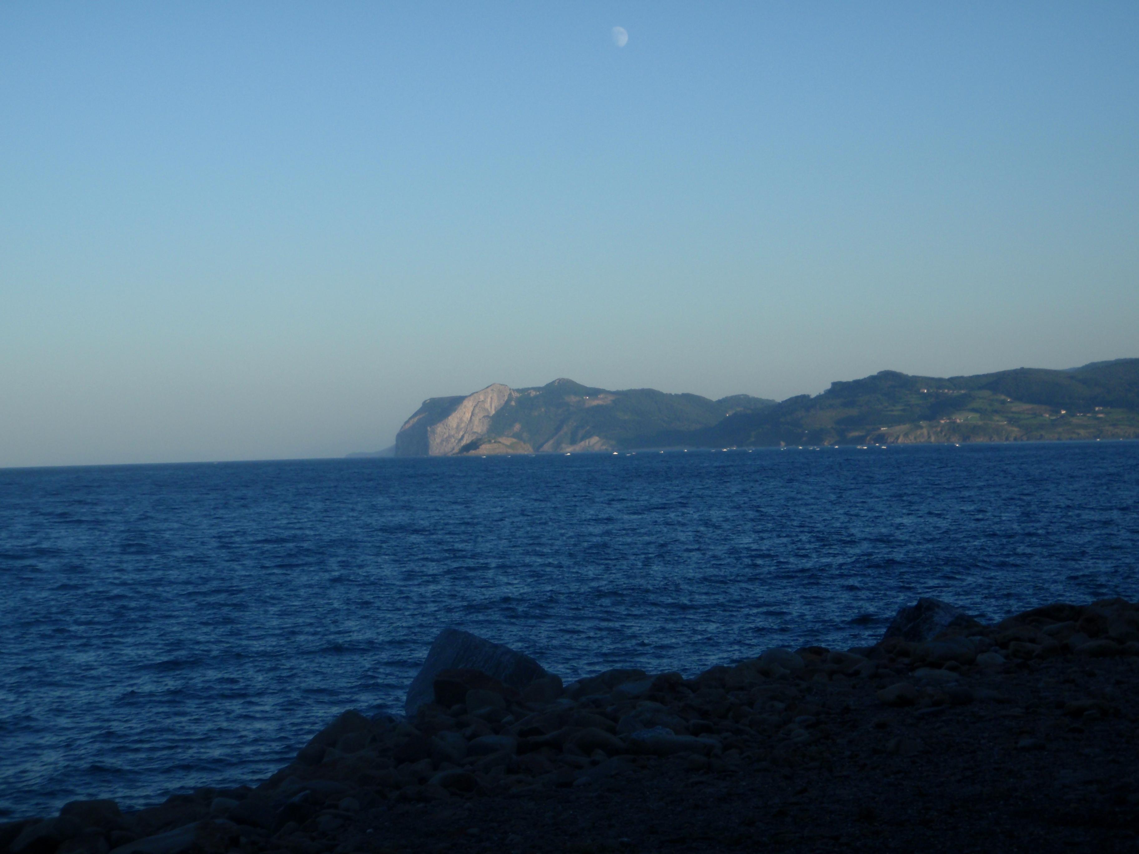 Foto playa Arribolas. Ogoño harribolatatik