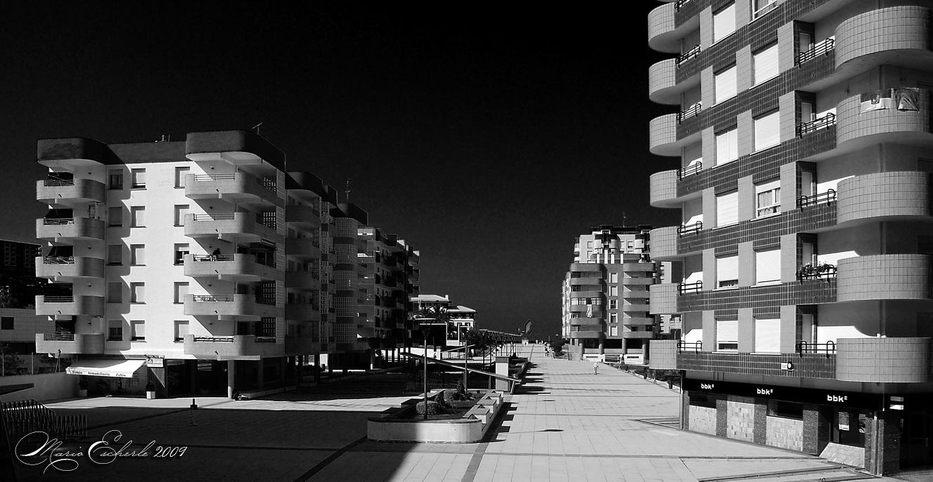 Foto playa Bakio. Häuser am Meer / Which one is the best???