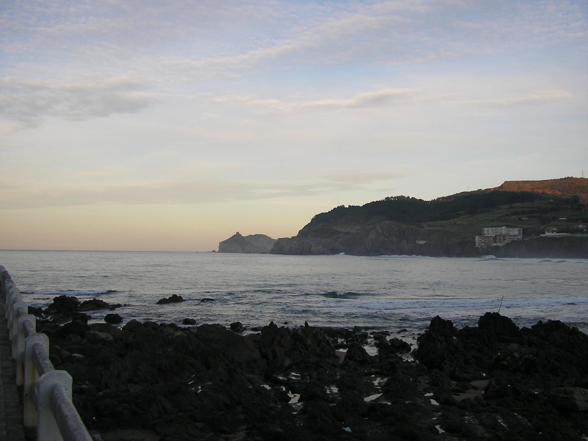 Foto playa Bakio. Bakioko Badia eta Gaztelugatxeko Doniene