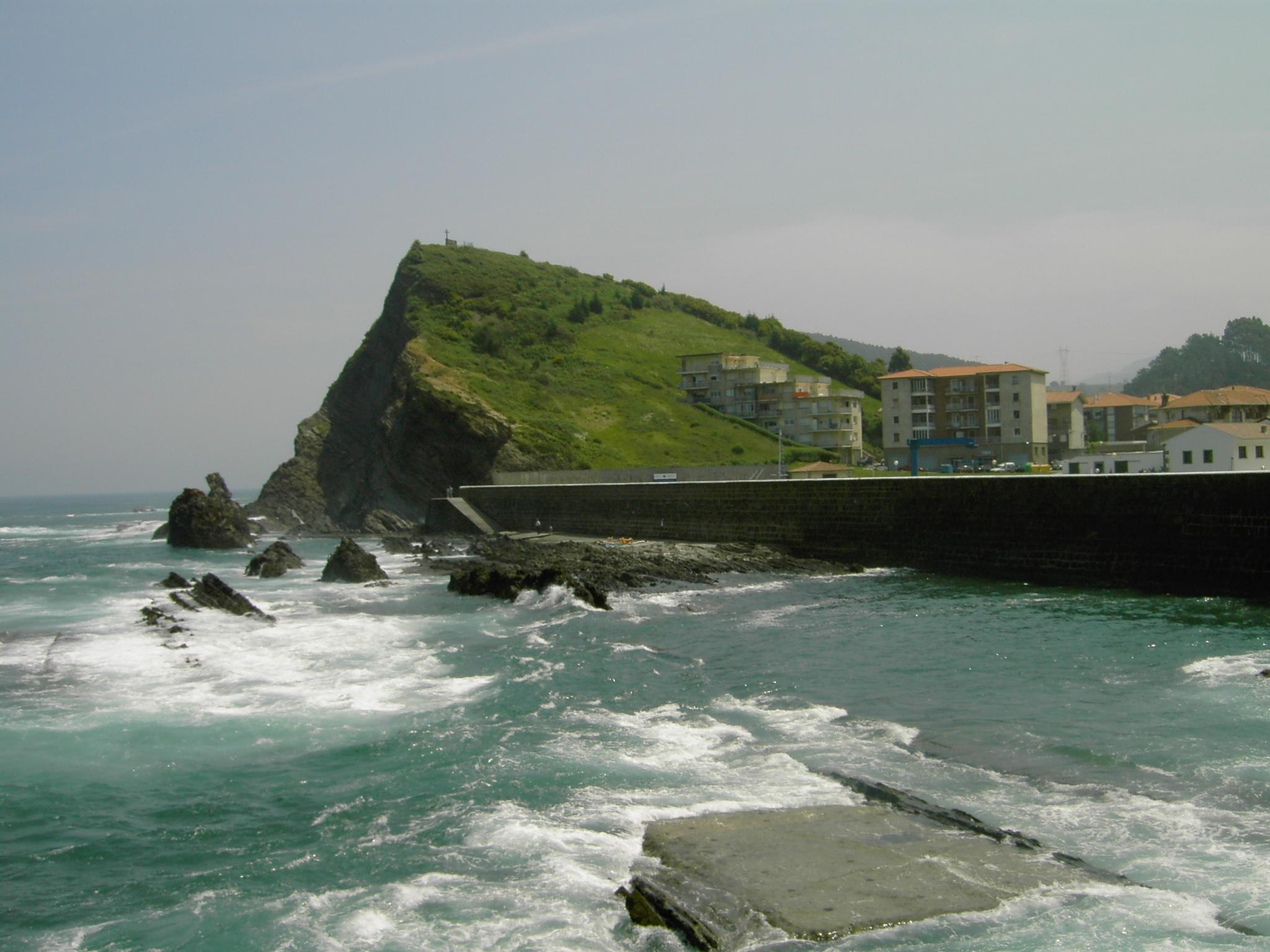 Foto playa Armintza / Armintzekoalde. Vista desde el Muelle