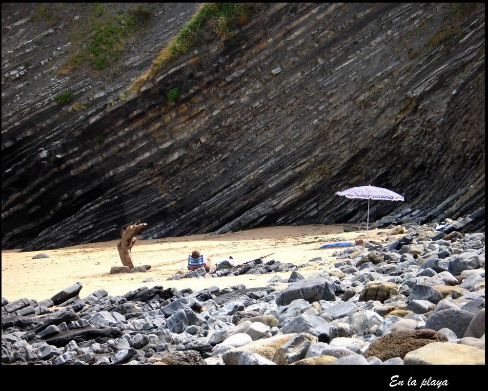 Foto playa Gorliz. En-la-playa