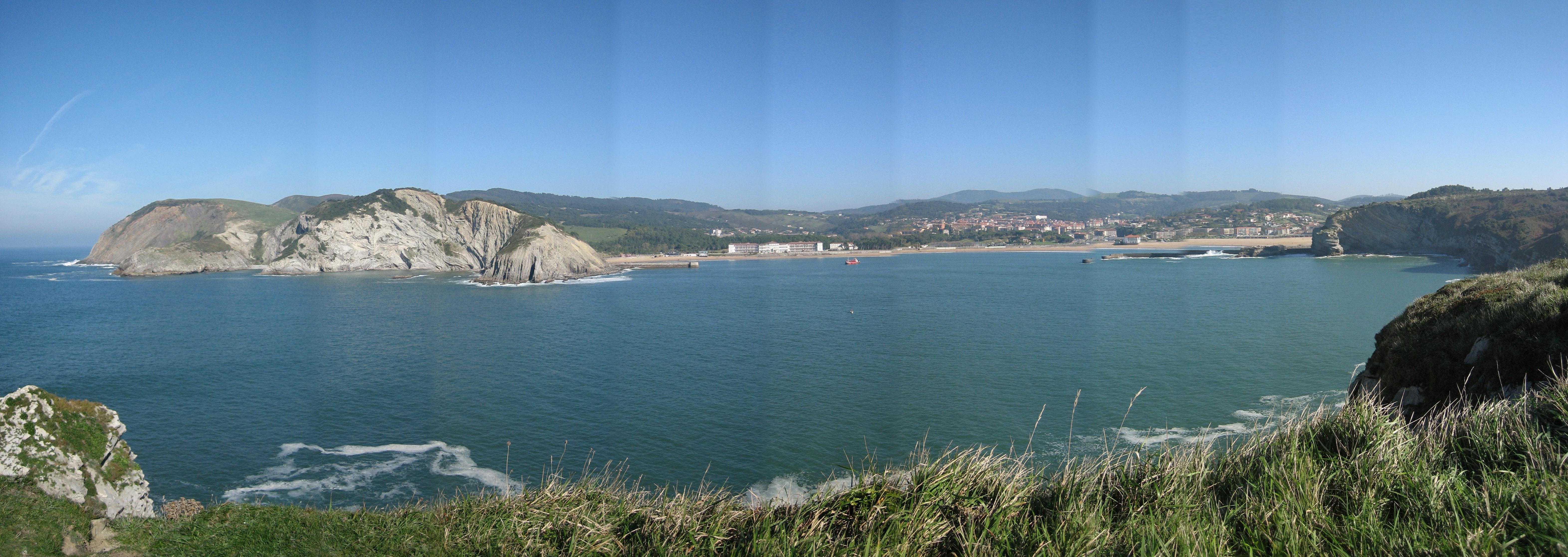 Foto playa Muriola / La Cantera. panorámica gorliz desde barrika josetxo19