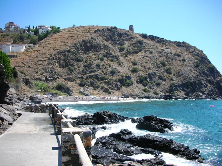 Foto playa Barranco de Enmedio. Cucurumbico (Almuñecar)