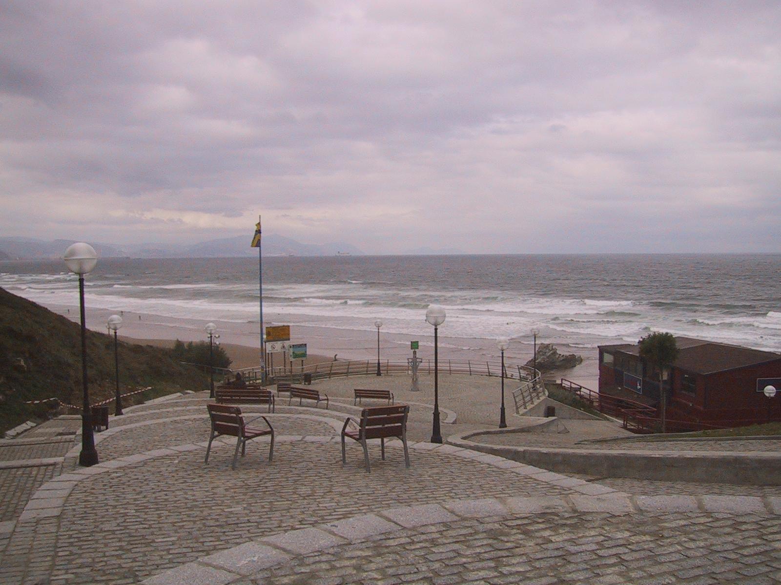 Foto playa Meñakoz. Bajada a playa Arrietara (Sopelana) Bizkaia