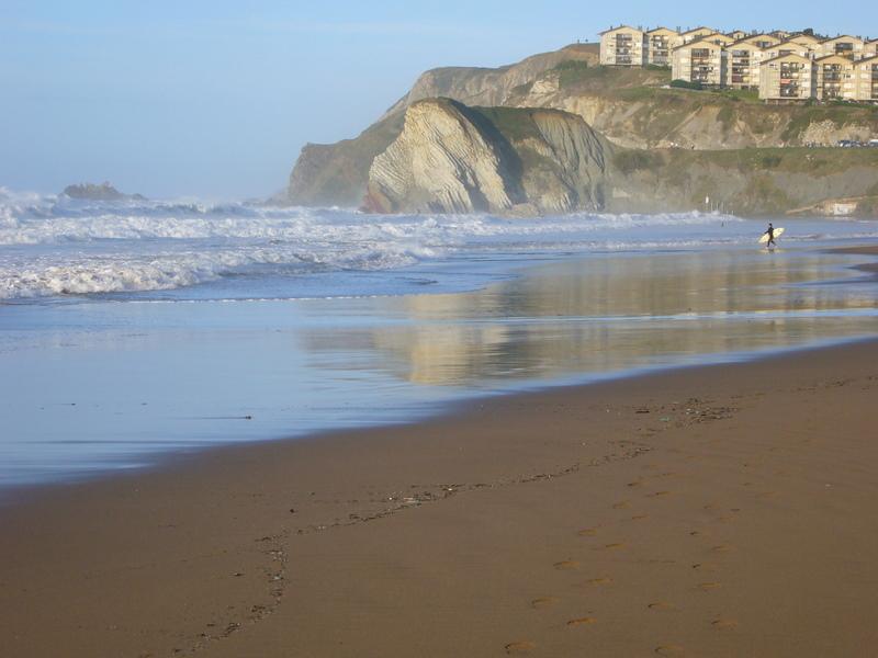 Foto playa Meñakoz. Sopelana