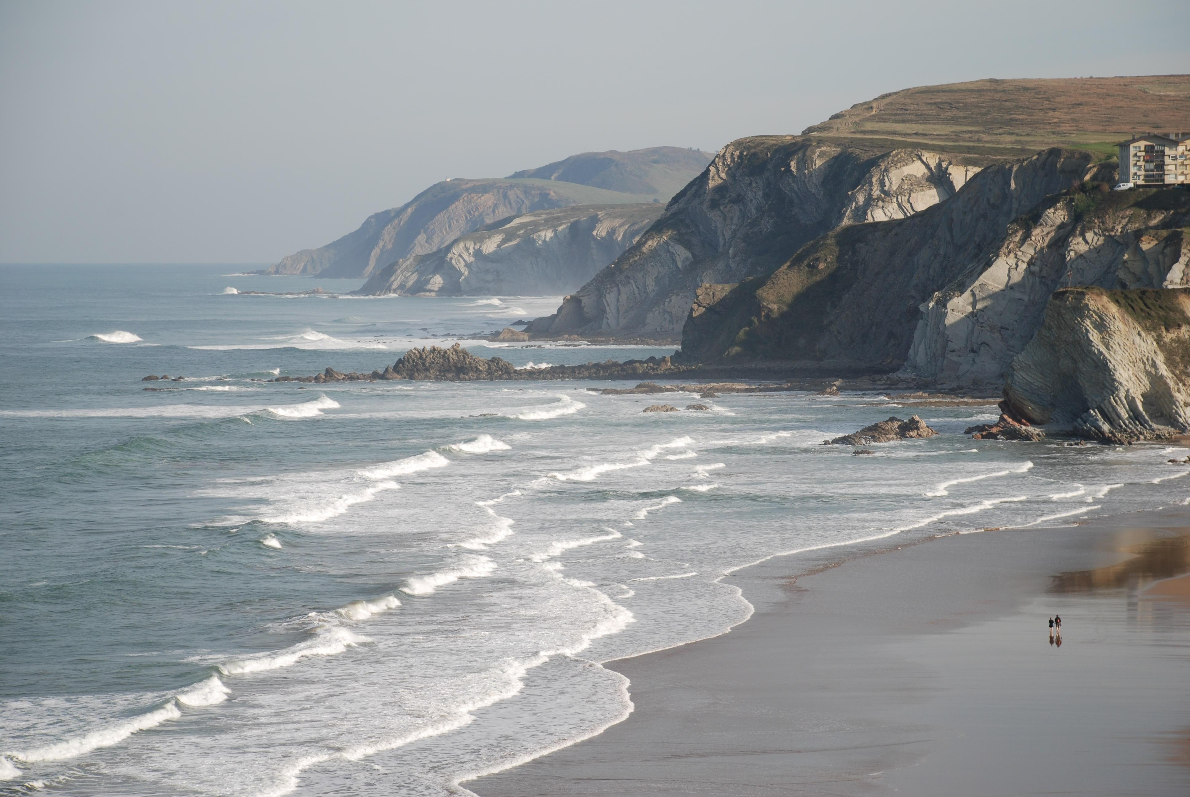 Foto playa Barinatxe / La Salvaje. Vistas de playas de Sopelana