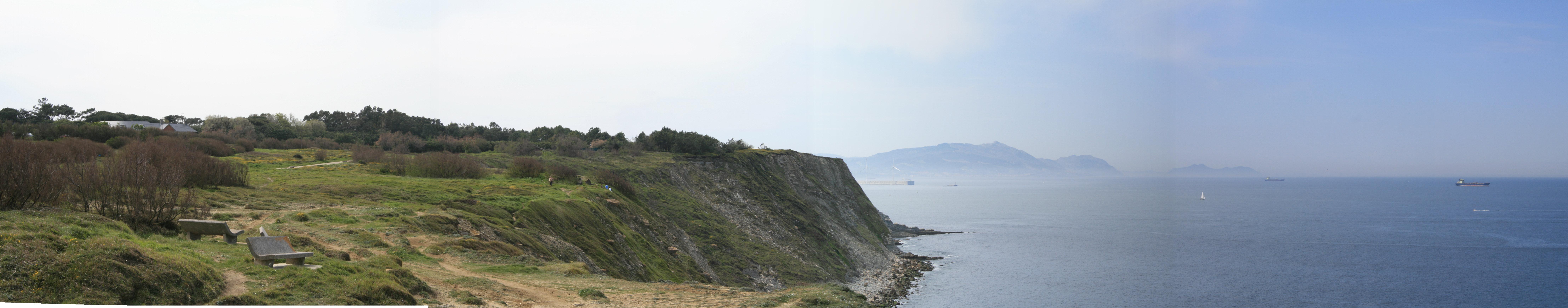 Foto playa Gorrondatxe / Azkorri. Azkorri ,acantilados fus. 004