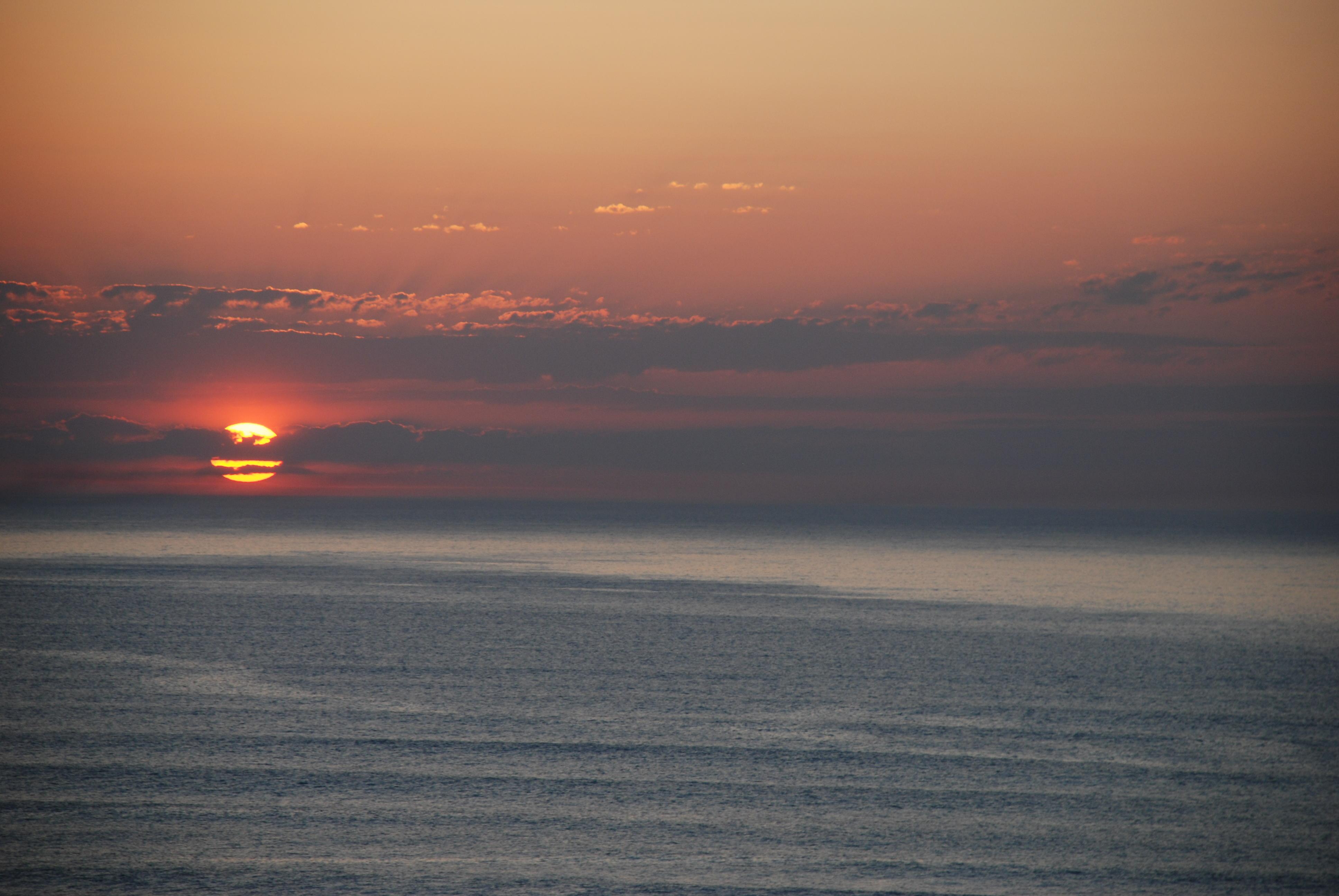 Foto playa Gorrondatxe / Azkorri. Ocaso