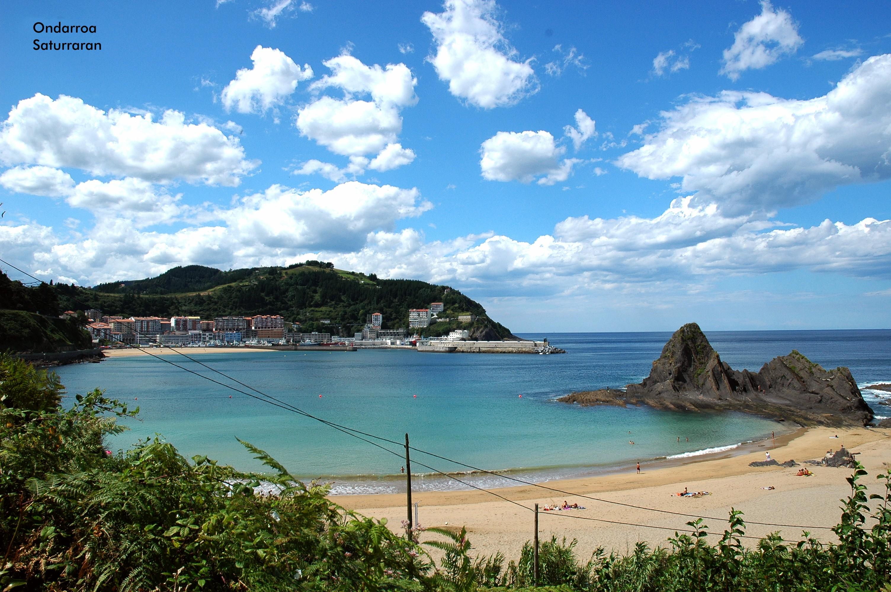 Foto playa Siete Playas / Zazpi Hondartzak. Playa de Saturraran (Bilbao)
