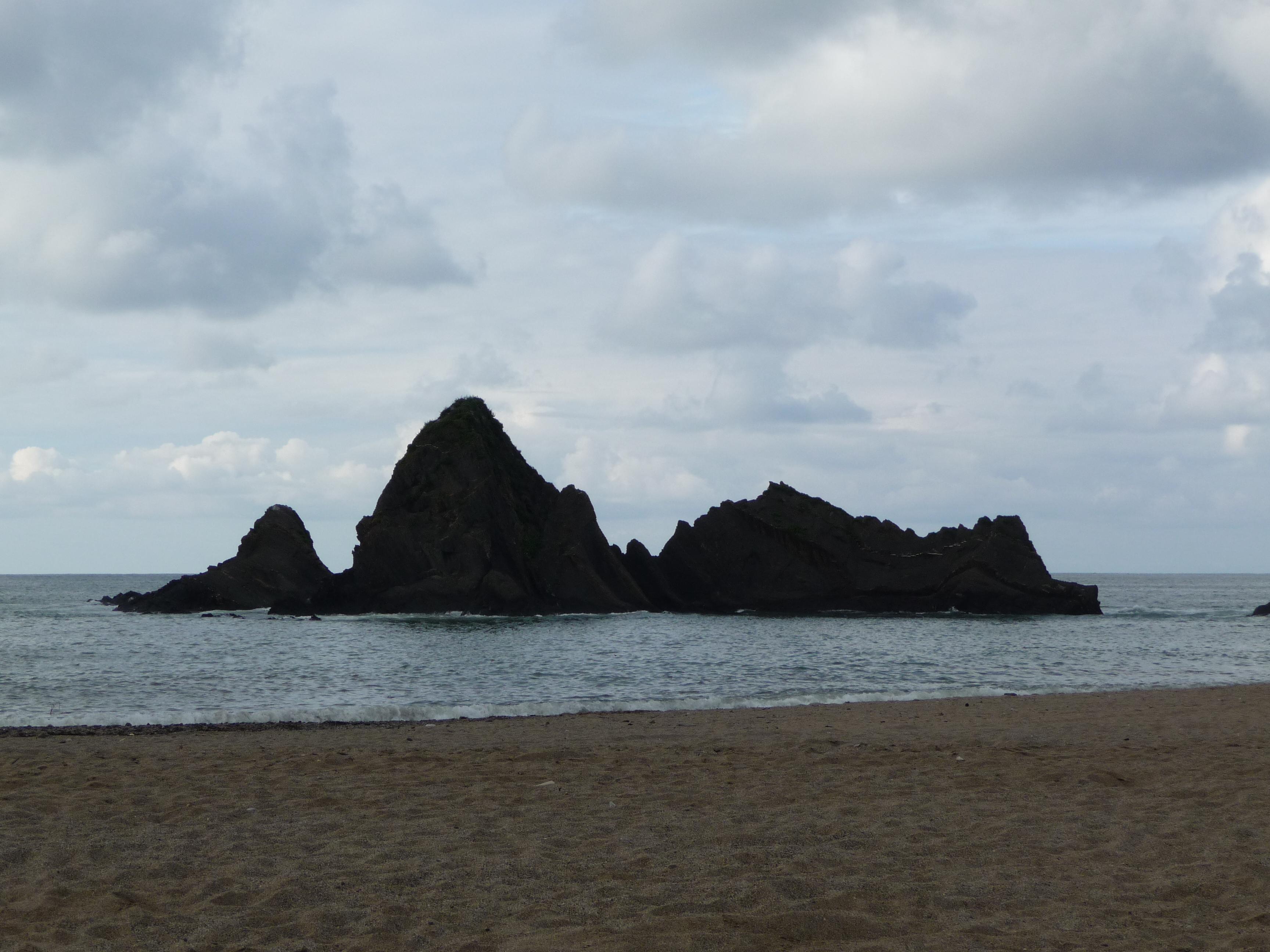 Foto playa Siete Playas / Zazpi Hondartzak. Playa de Saturrarán