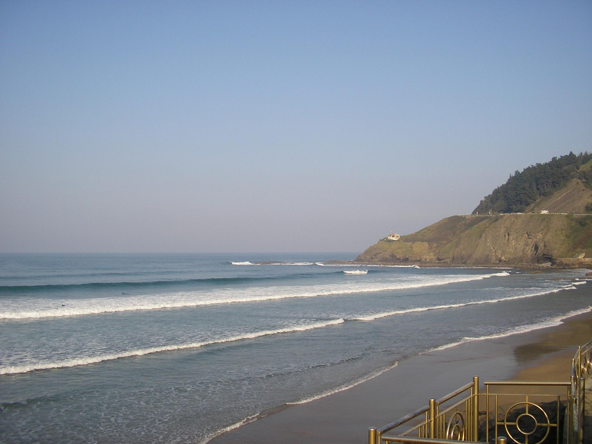 Foto playa Ondarbeltz / Ondar-Beltz. Deba inguruko Amillak