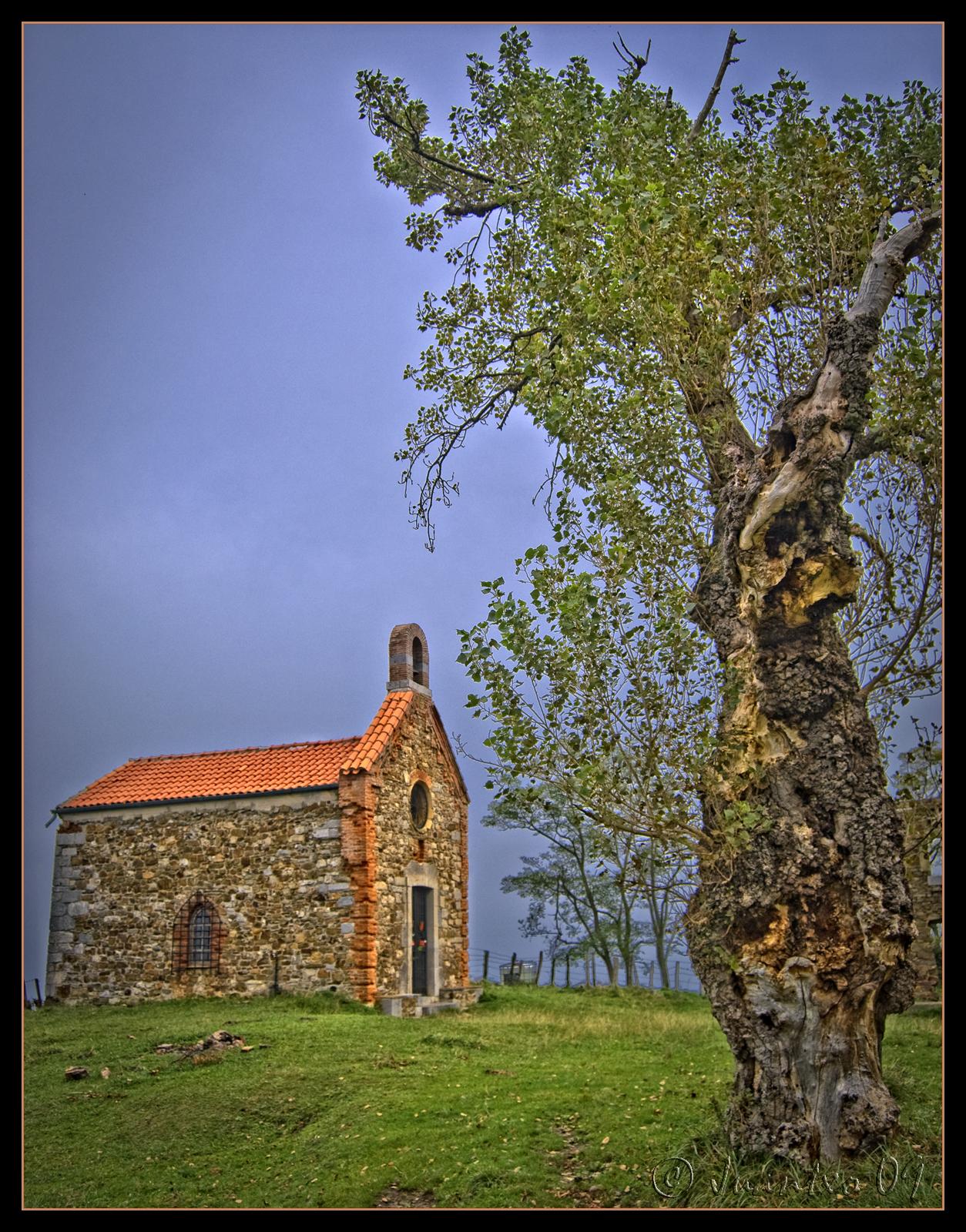 Foto playa Itxaspe. Ermita de Santa Catalina