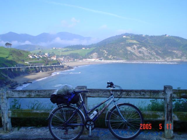 Foto playa Itxaspe. Deba