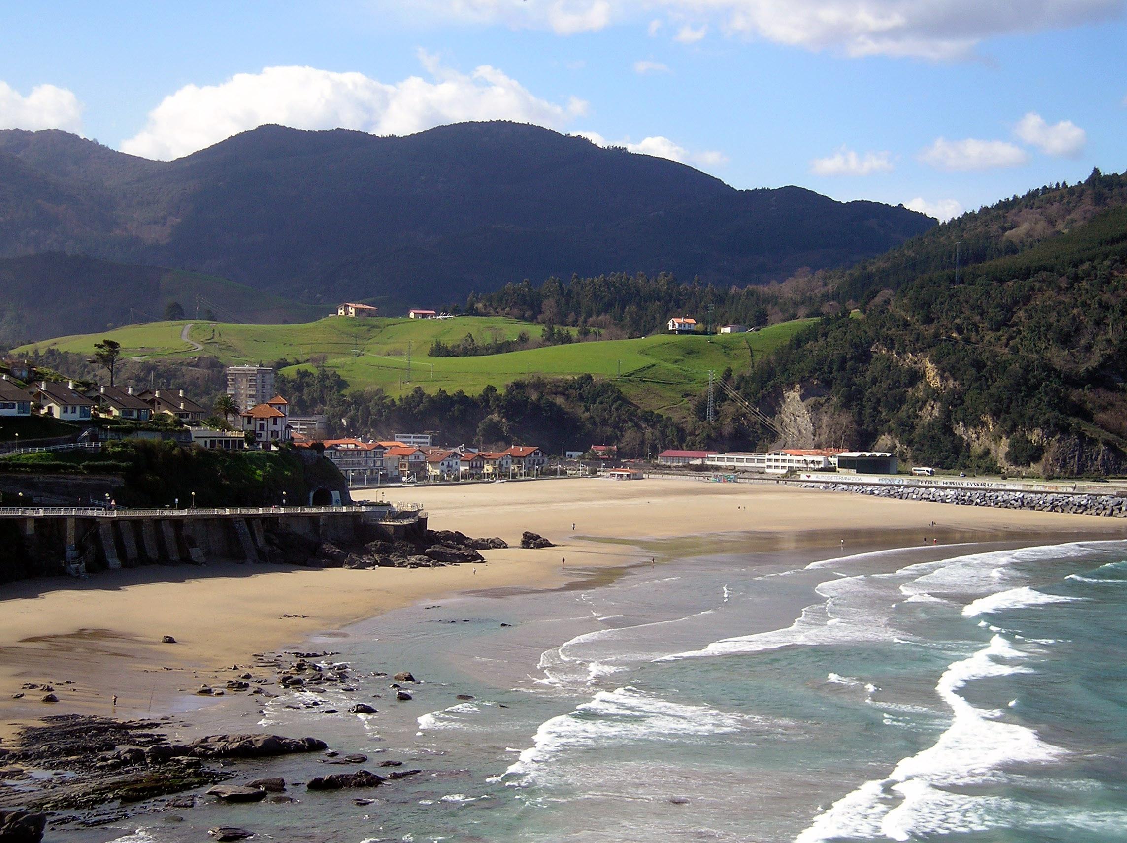 Foto playa Itxaspe. Playa de Deba-2