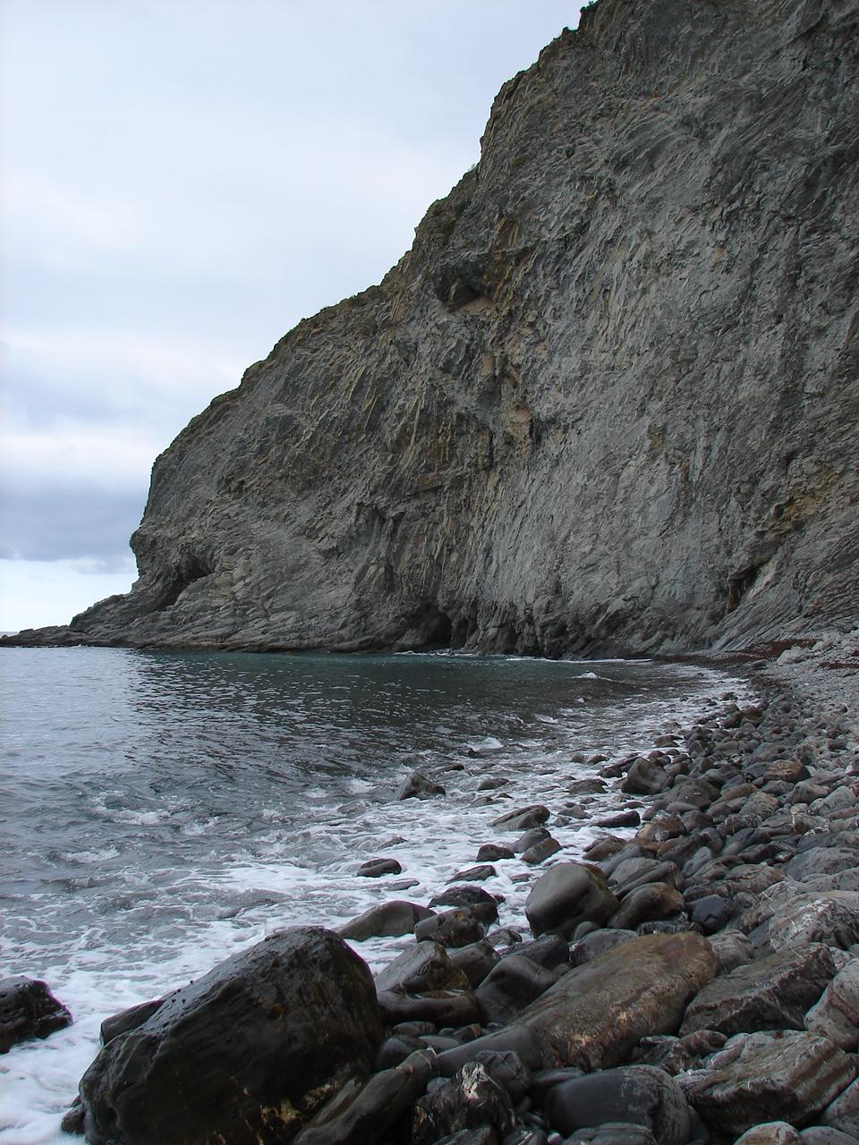 Foto playa Mendata. costa itziar