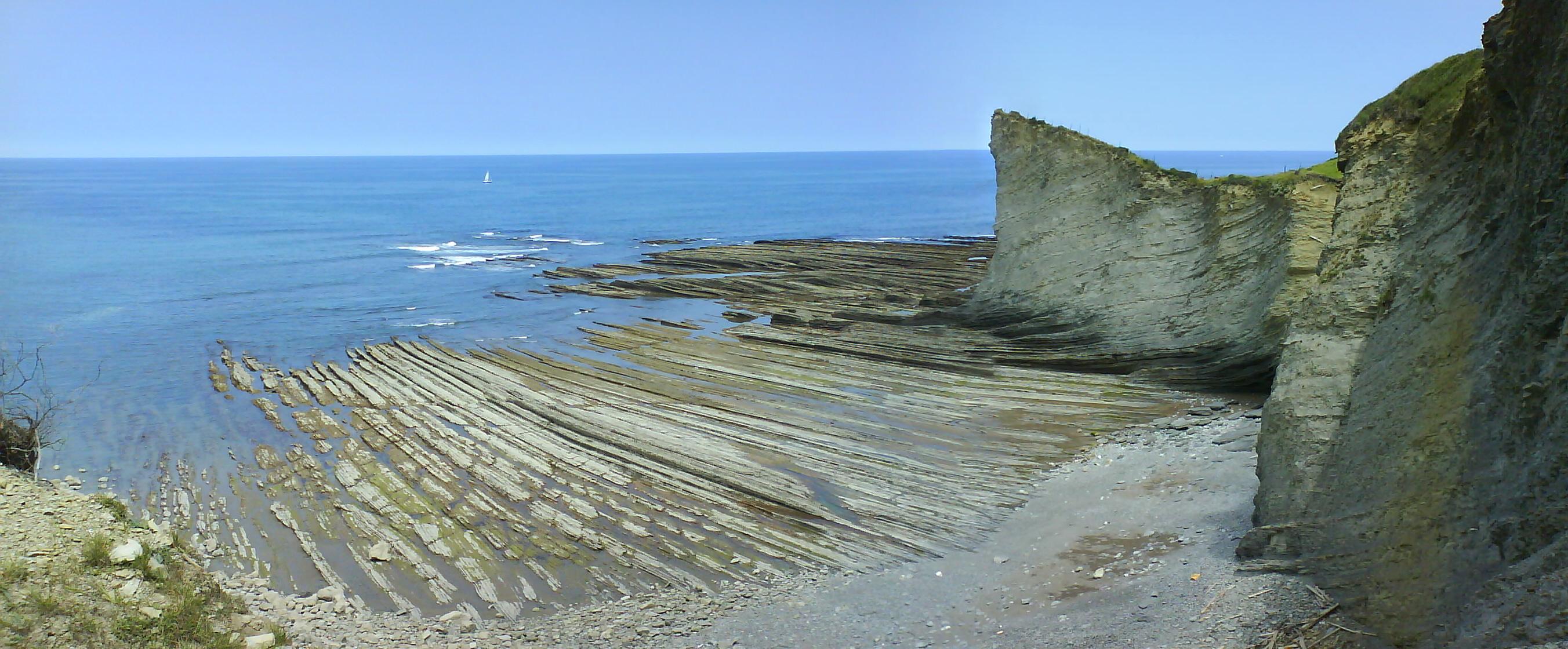 Foto playa Murgita / Illurgita. Rasa mareal de mendata