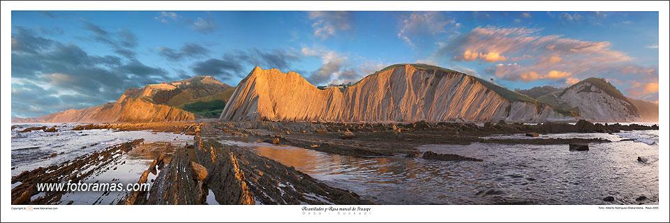 Foto playa Murgita / Illurgita. Panorama - Acantilados de Itxaspe