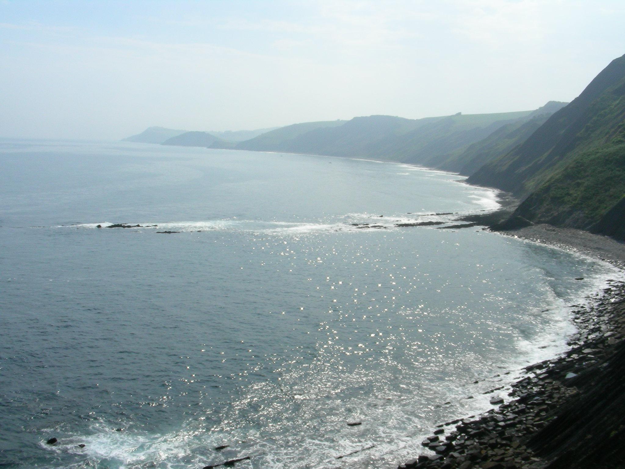 Foto playa Sakoneta. Costa de Zumaia - Deba