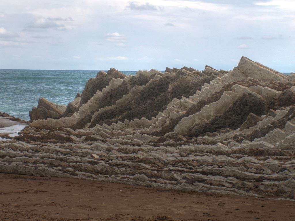Foto playa Itzurun. Zumaia