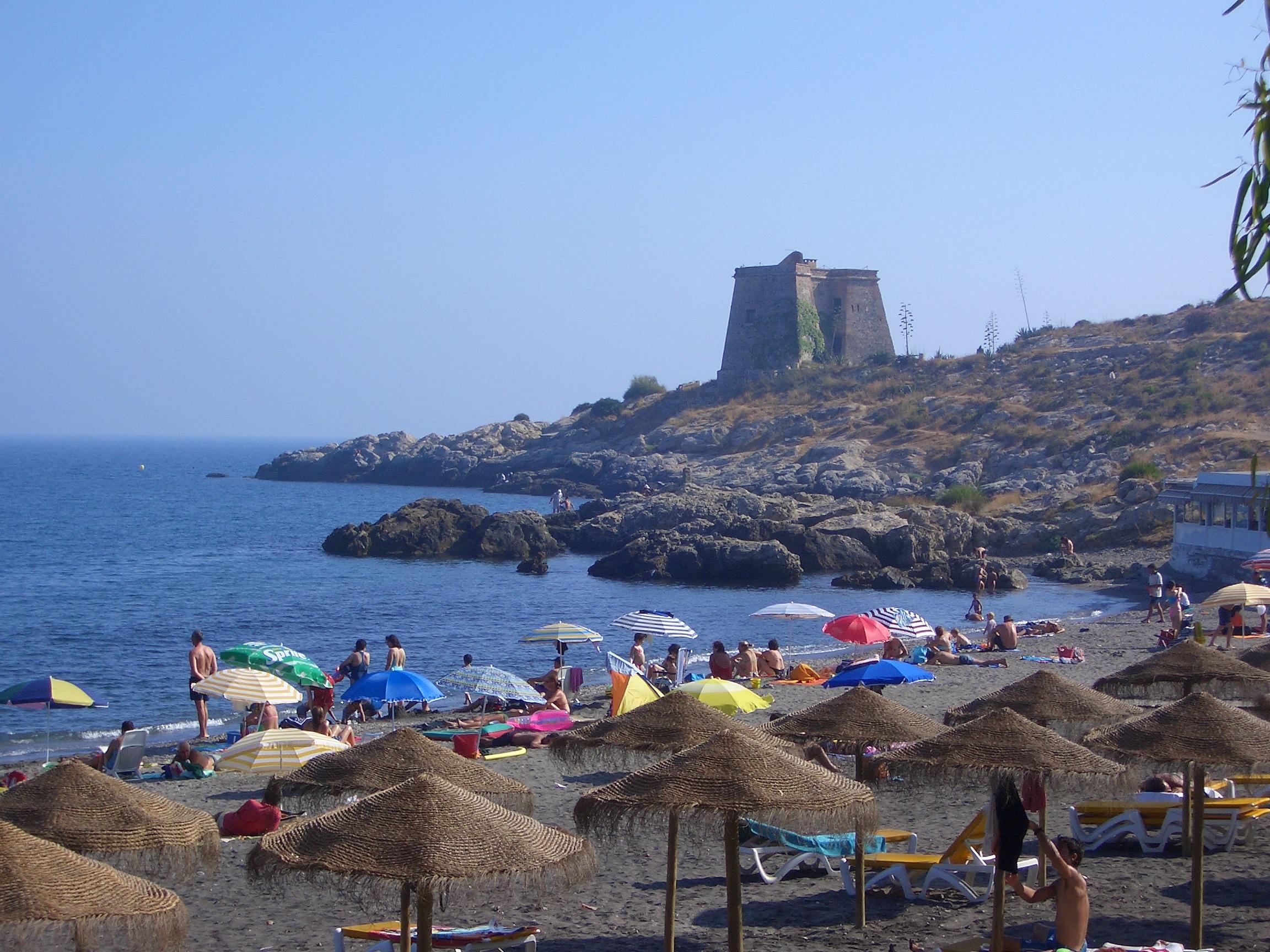 Foto playa Cabria. Playa del Pozuelo, Almuñecar