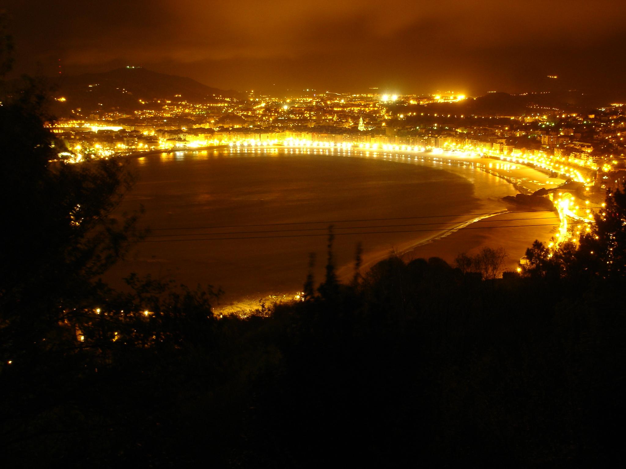 Foto playa Ondarreta. Playa de la Concha (Donosti)