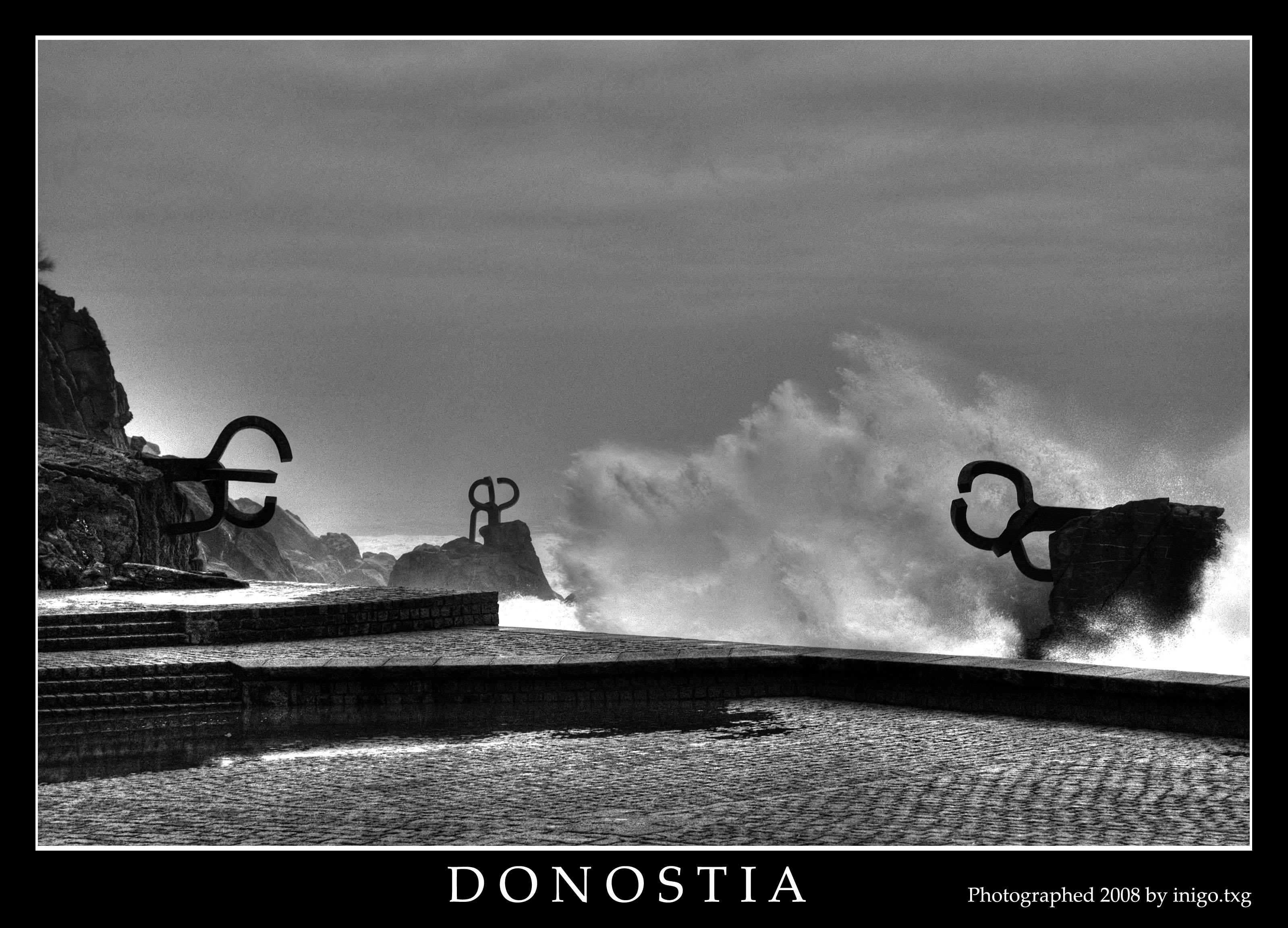 Foto playa Ondarreta. 20030313