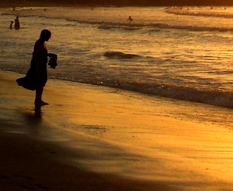 Foto playa La Zurriola. A BIT OF RELAXATION / UN POCO DE RELAX