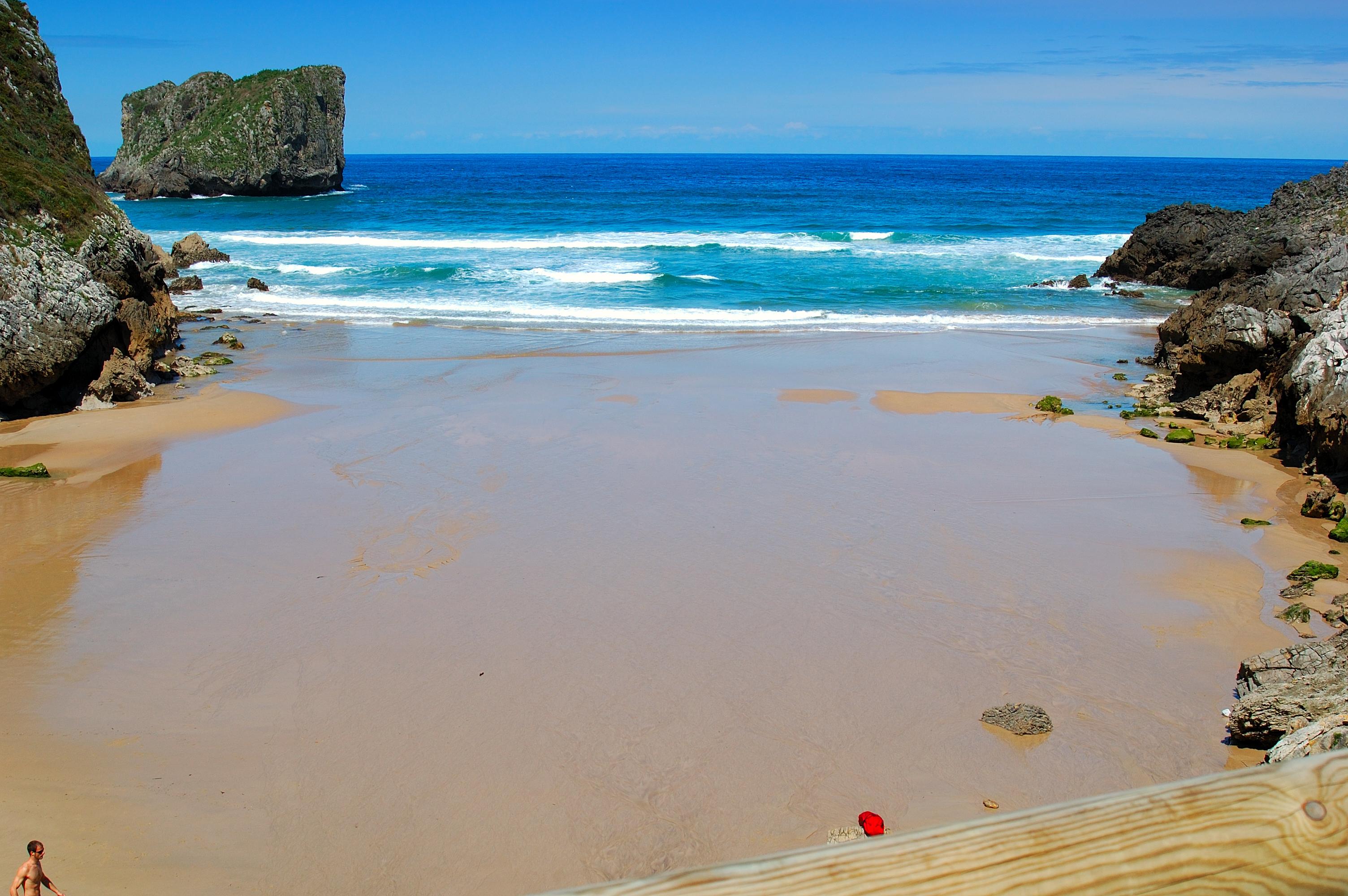 Foto playa Aitzuri. Playa de San Martin
