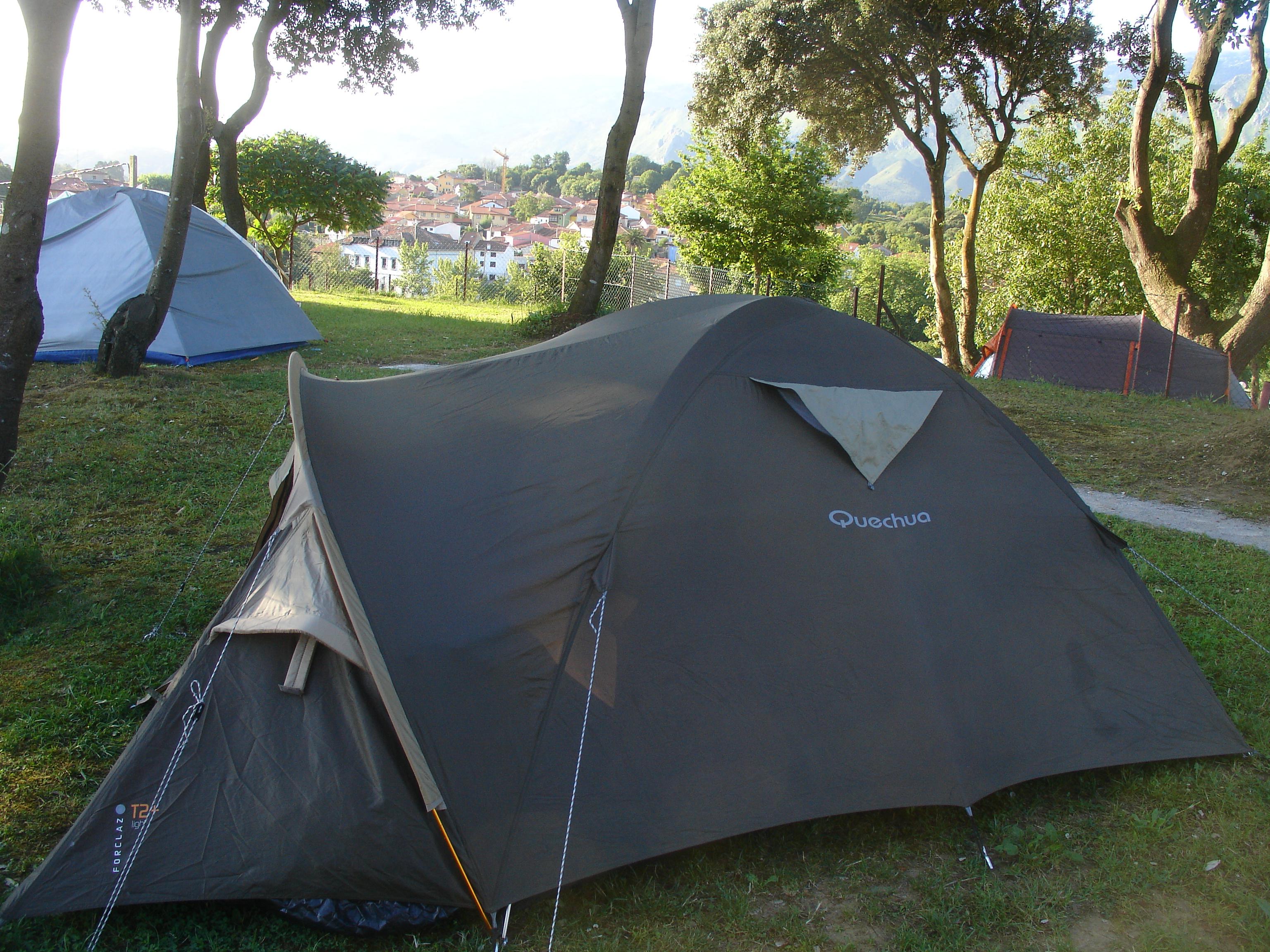 Foto playa Aitzuri. Camping Las Conchas