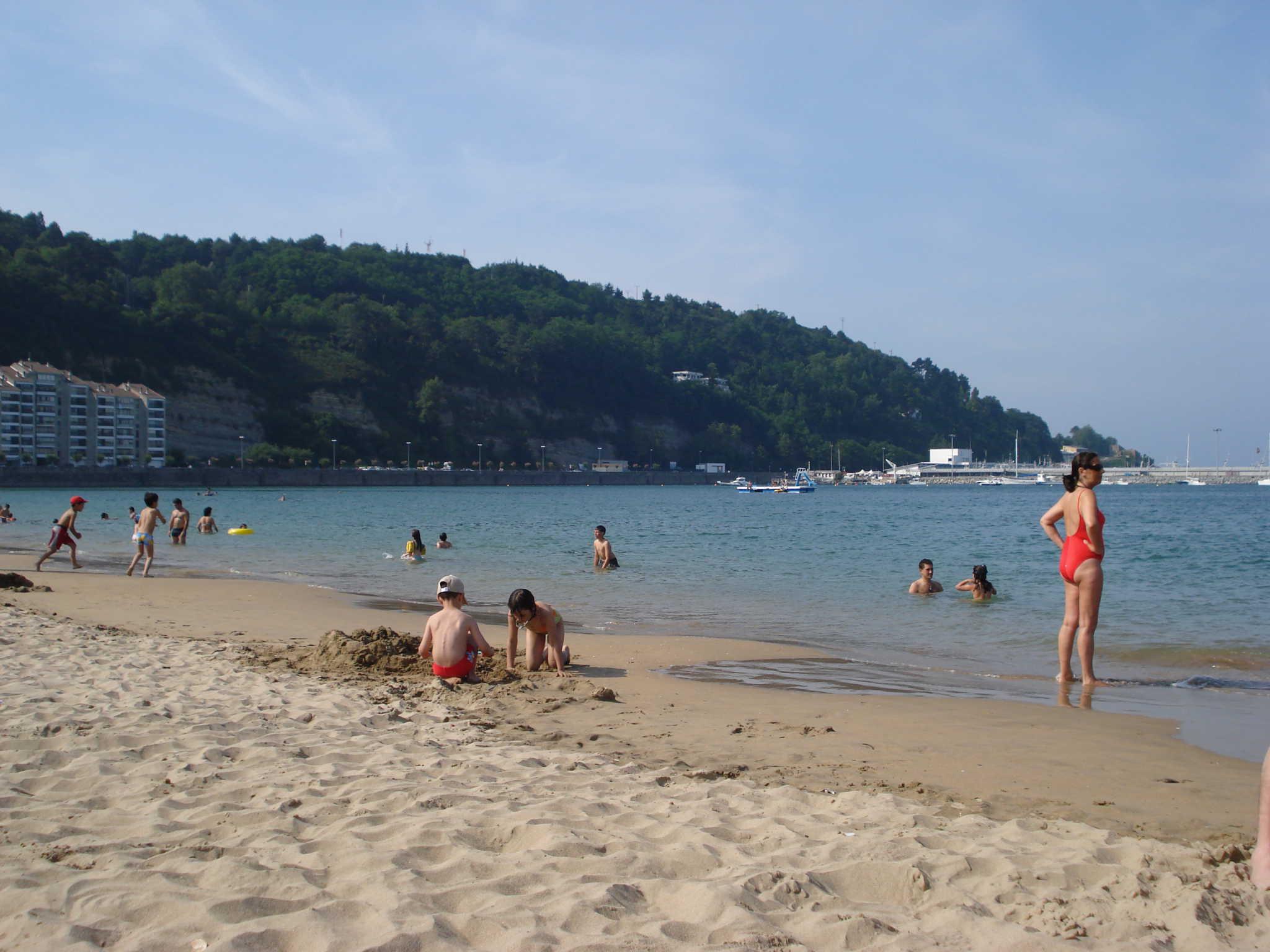 Foto playa Azabaratza. Hondarribia playa