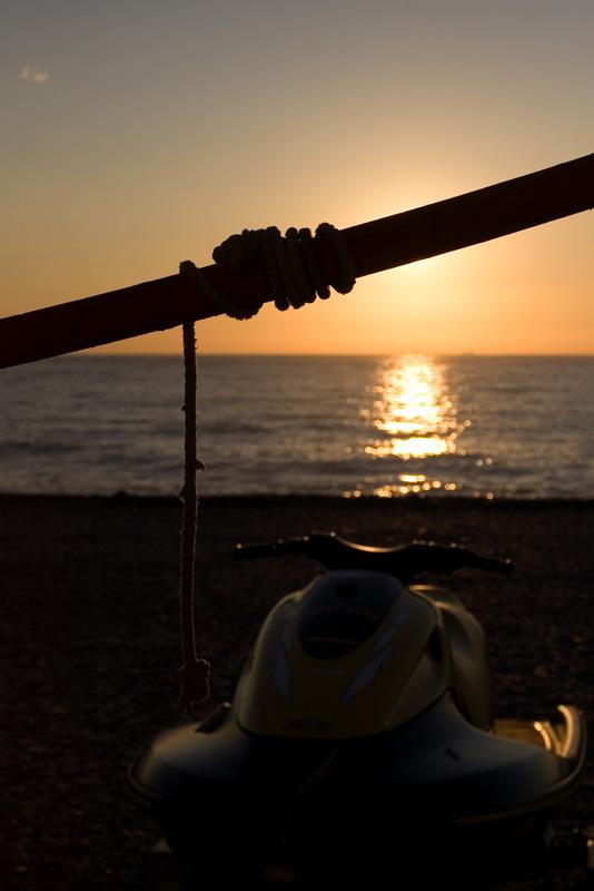 Foto playa Velilla. Almunecar sunrise