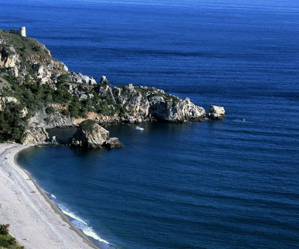 Foto playa Cala del Cañuelo.