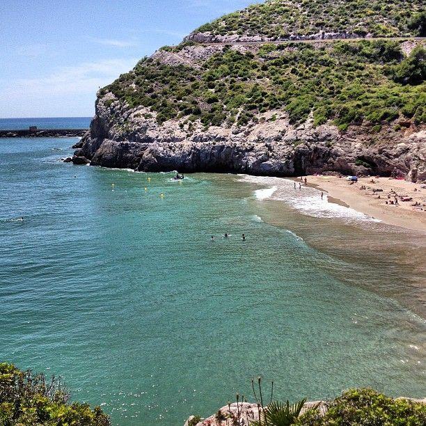Foto playa Cala Morisca.