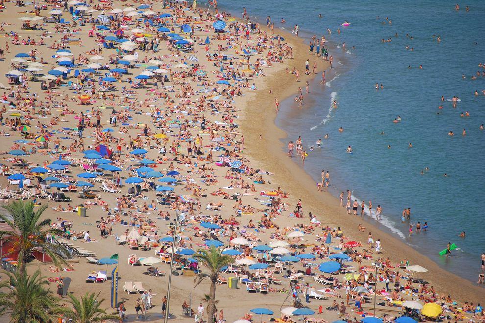 Foto playa Sant Sebastià.