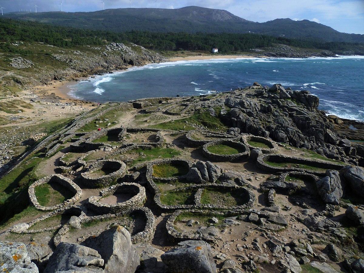 Foto playa O Castro / Catia / Aguiño.