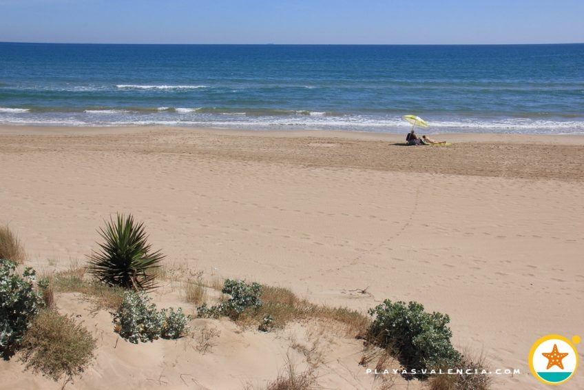 Foto playa Mareny Blau / Mareny de Vilxes.