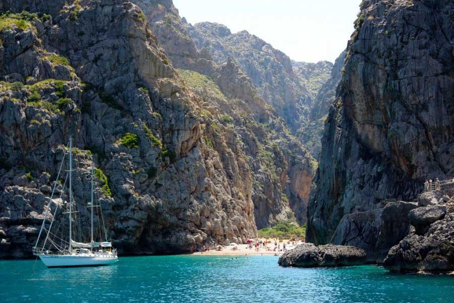 Foto playa Cala Egos.