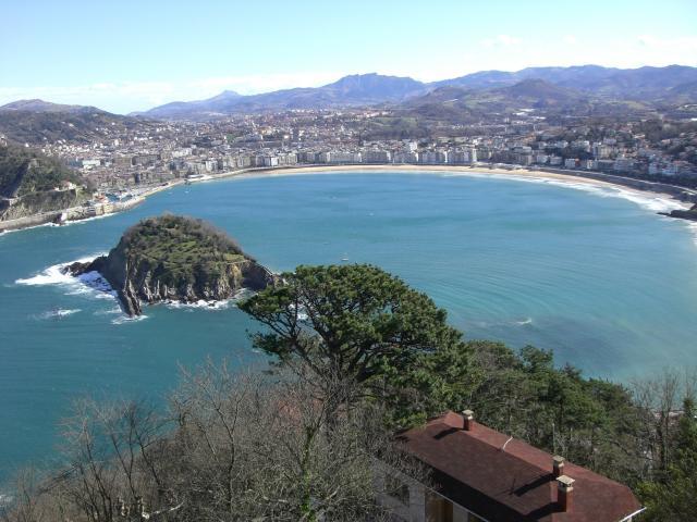 Foto playa La Concha.