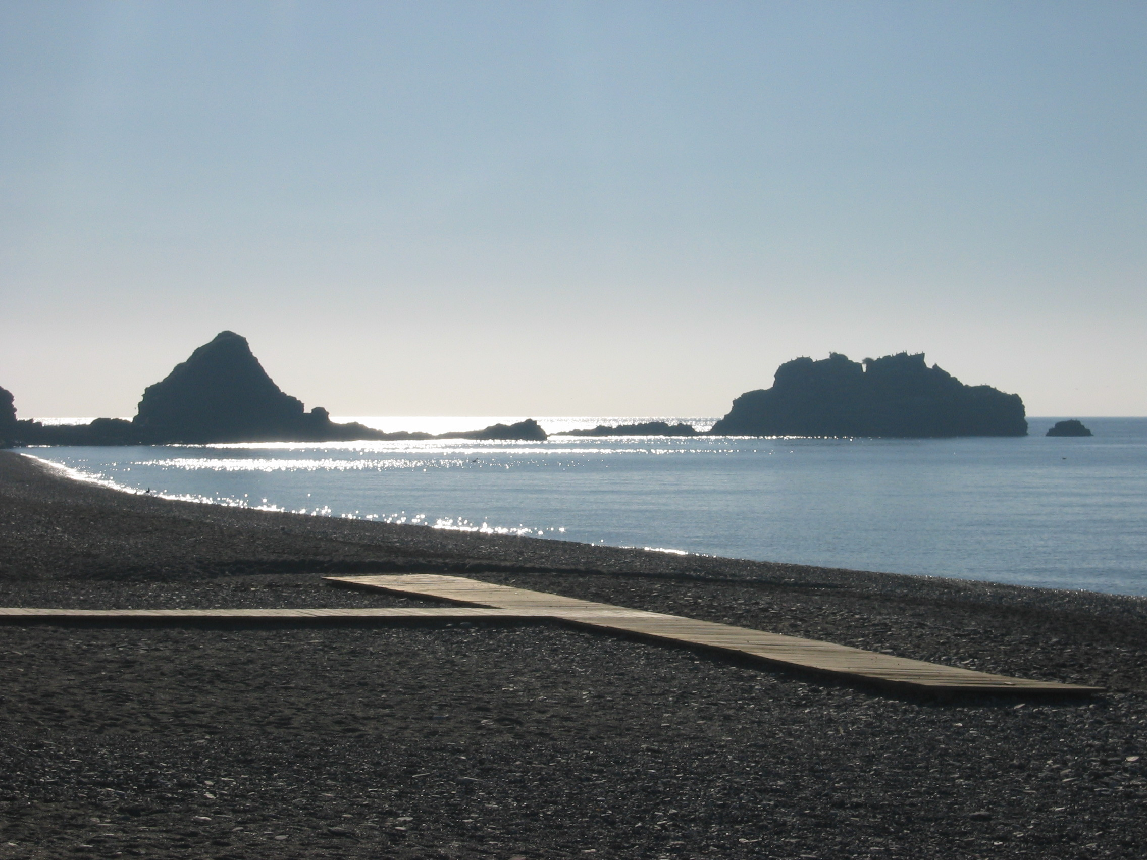 Foto playa Puerta del Mar / Fuentepiedra. El mar en calma, Almuñecar