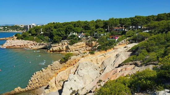 Foto playa Cala Font.